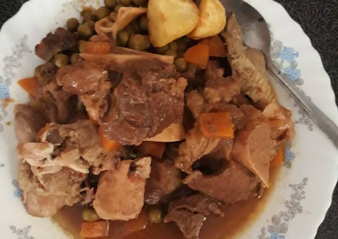 Nyama minji stew #local foodcontest_mombasa