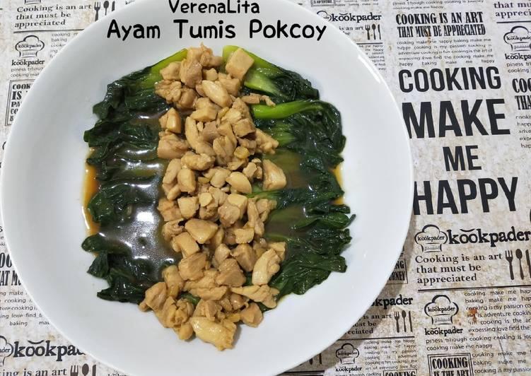 Recook Ayam Tumis Pokcoy