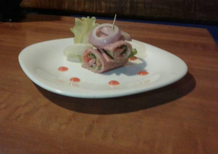 Stuffed Beef Bacon Salad