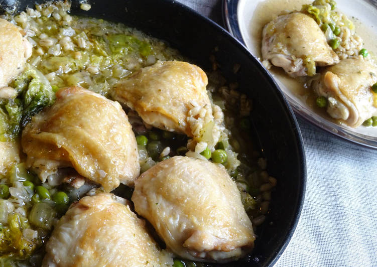 Easiest Way to Make Quick Chicken & Barley Stew