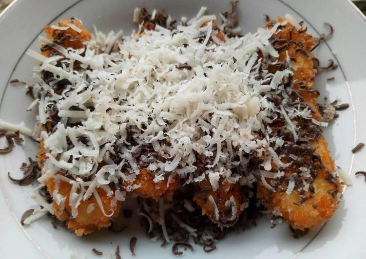 Resep Pisang Crispy Coklat Keju oleh Wahyu Utami - Cookpad