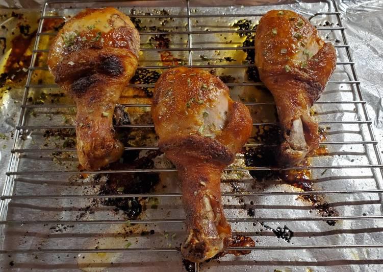 Easiest Way to Prepare Ultimate Mango Habanero Chicken Legs