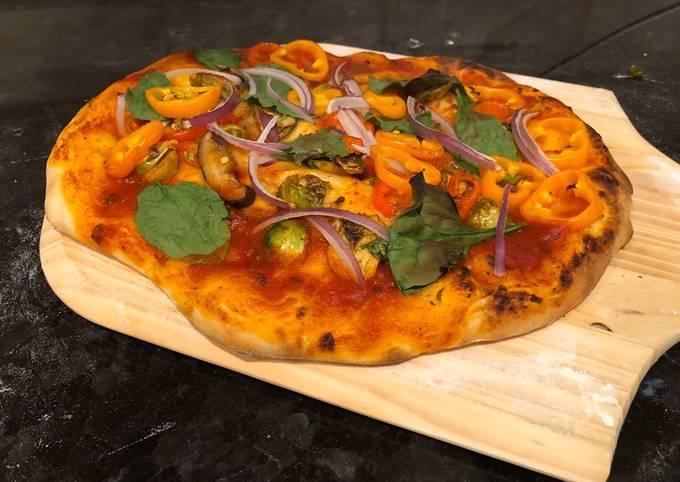 Homemade Veggies Pizza