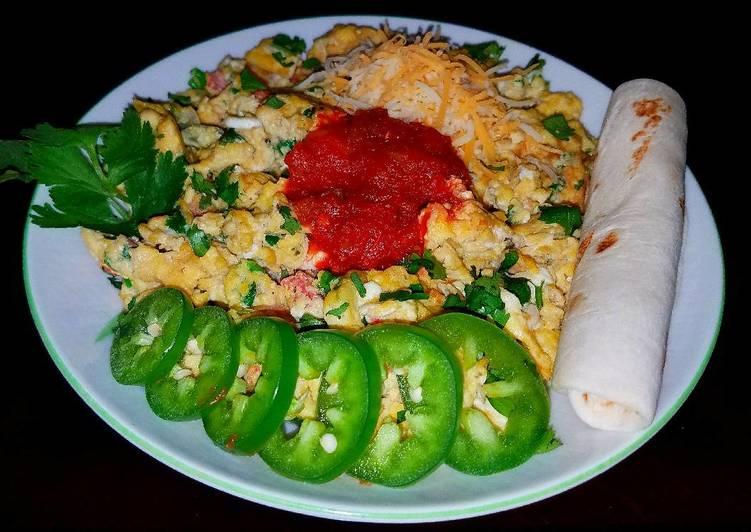 Mike's Huevos a la Mexicana