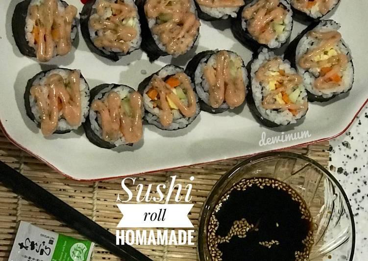 Sushi 🍣 ala rumahan
