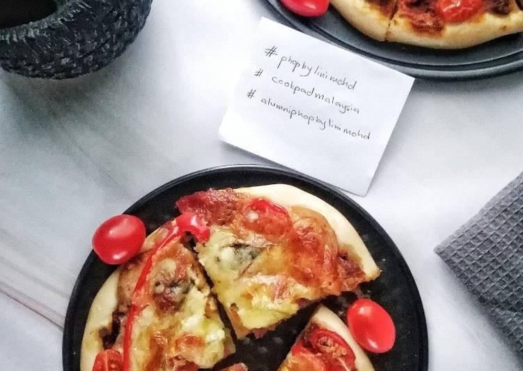 Resepi: Simple Homemade Pizza #PhopbyLini Mohd  Termudah