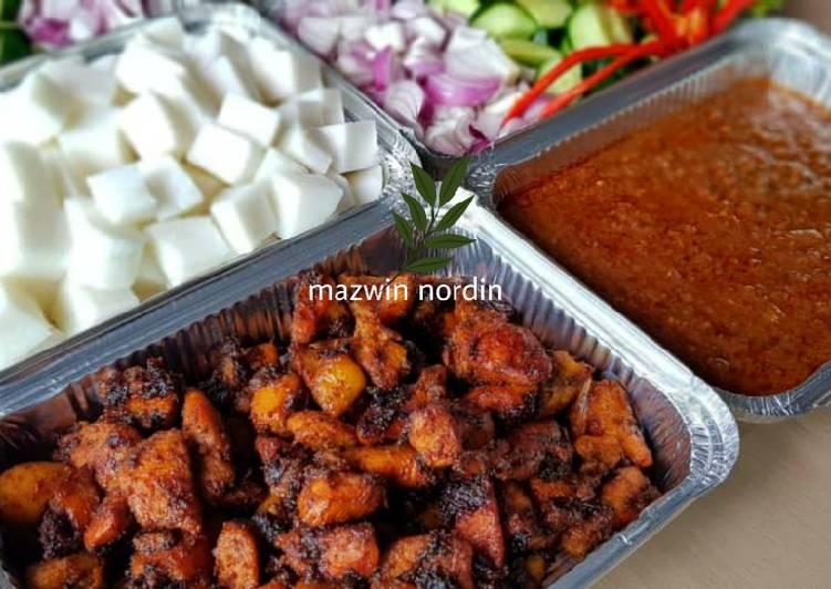 Satey goreng Che Bidah - resepipouler.com