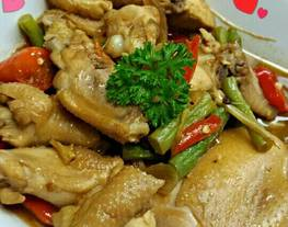 Garang Asem atau Asem Asem Ayam Buncis
