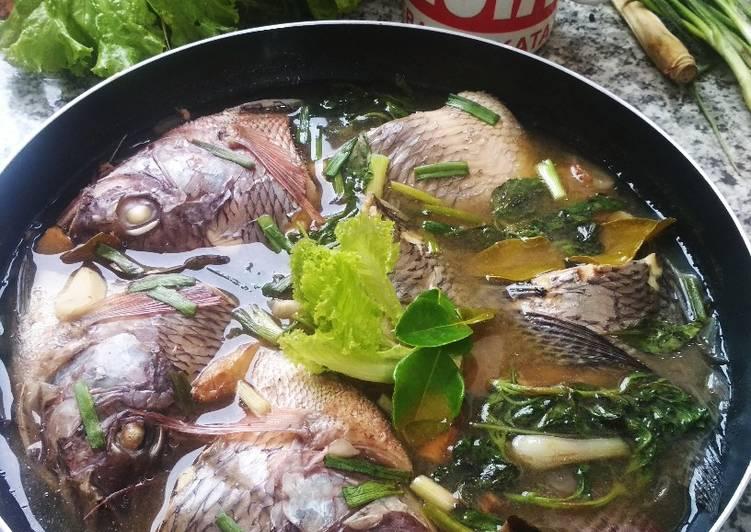 Ikan Nila Masak Hip Ala Bangka (Sehat & No Minyak)