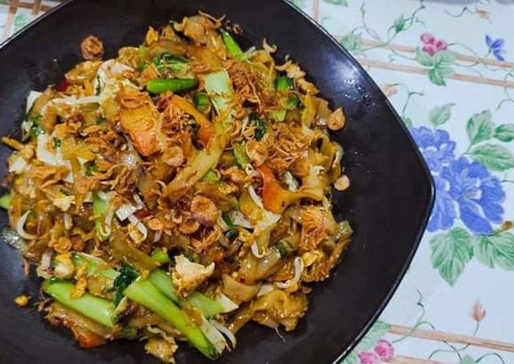 Kwetiao goreng simple