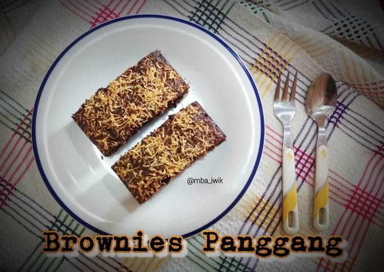 Brownies Panggang (takaran sendok)