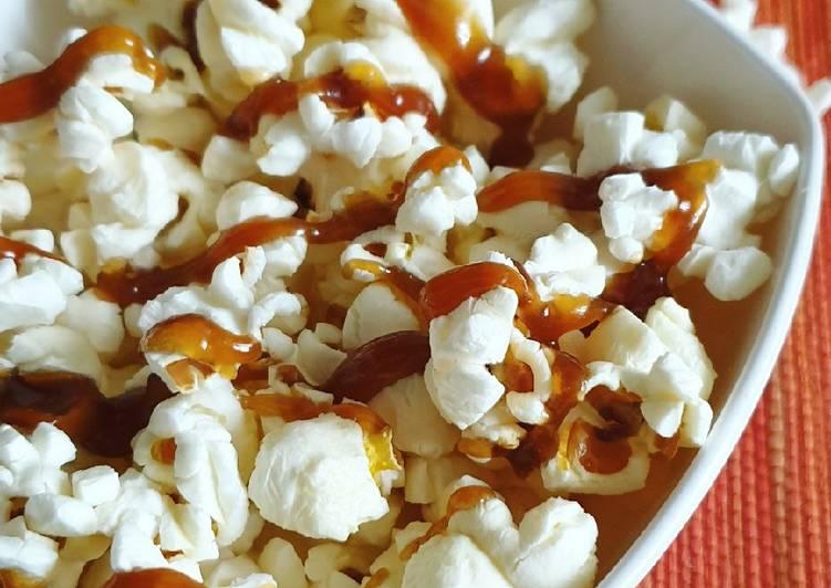 Step-by-Step Guide to Prepare Favorite Caramel popcorns
