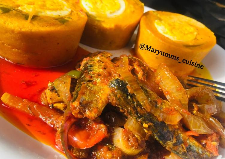 15 Minute Recipe of Fall FRESHOO MOI MOI by maryumms_cuisine