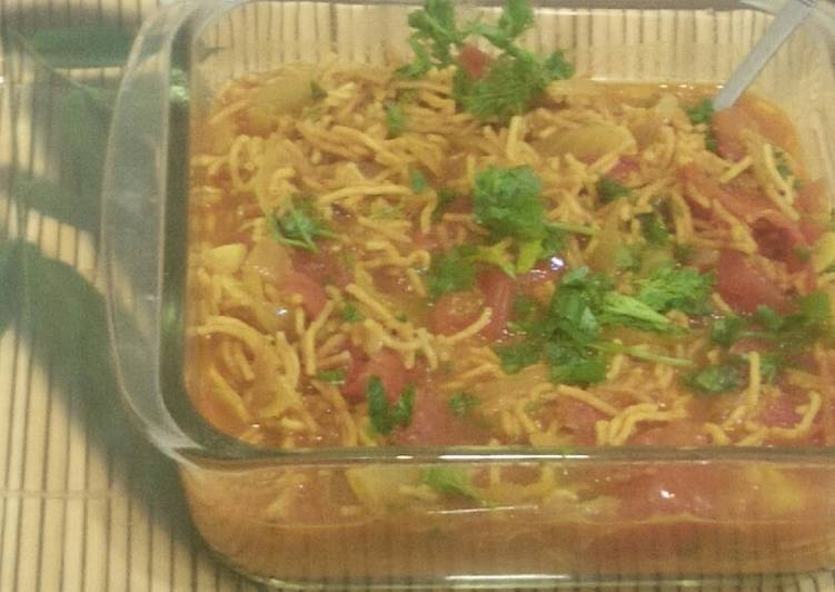 Easiest Way to Cook Delicious Veg Sev tomato
