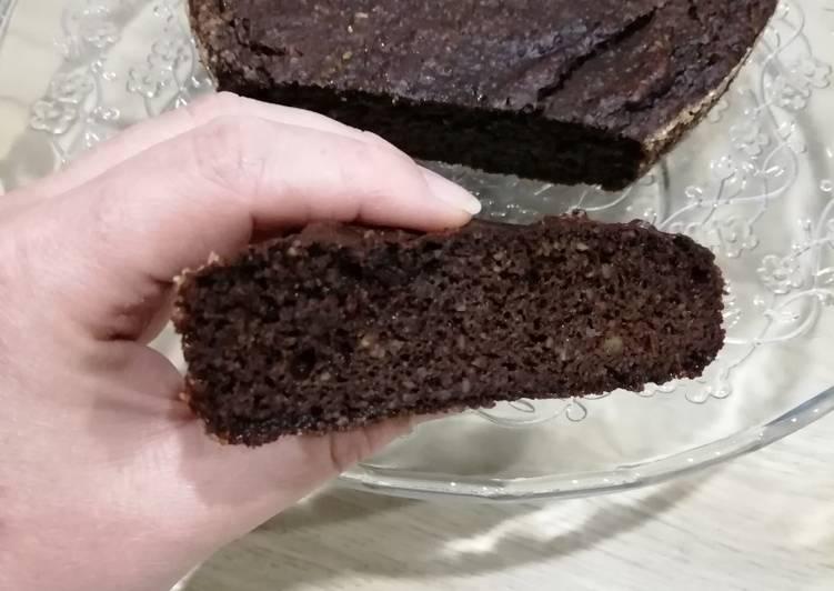 Comment faire Préparer Appétissante Brownie healthy ingrédient mystère😁ssa/gluten free/sans beurre
