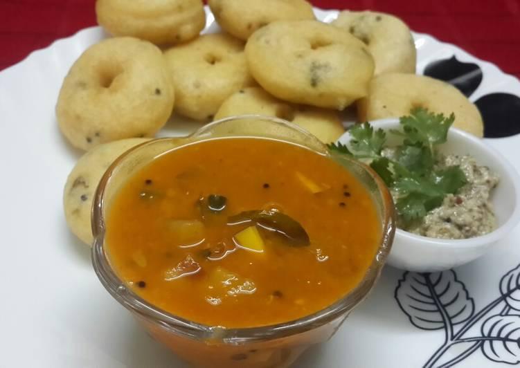 How to Prepare Delicious Sambar Vada