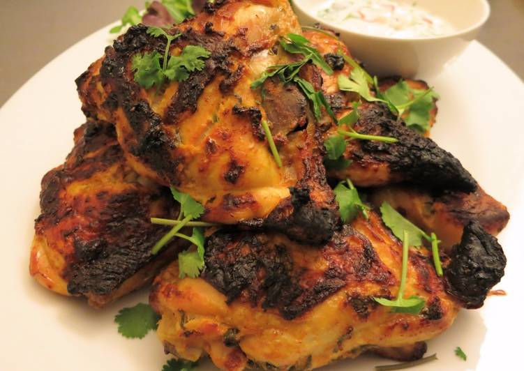 Viet-Inspired Tandoori Chicken