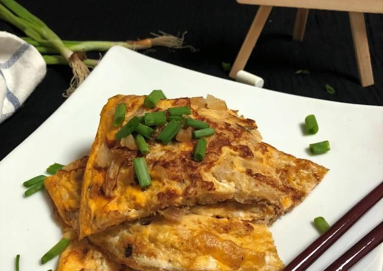 5 Minute Recipe of Homemade Chai Tow Kueh