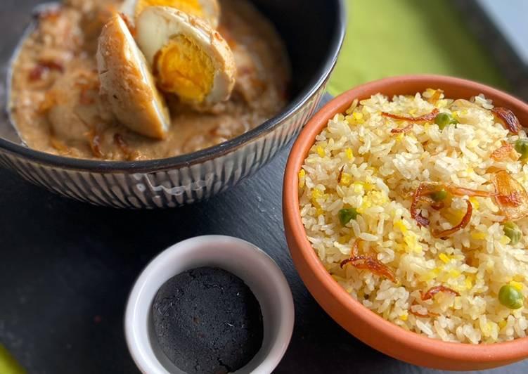 Egg korma #dinnerideas