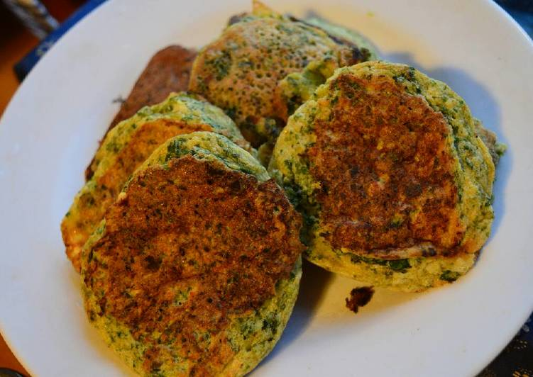 Easiest Way to Prepare Perfect Spinach pancakes