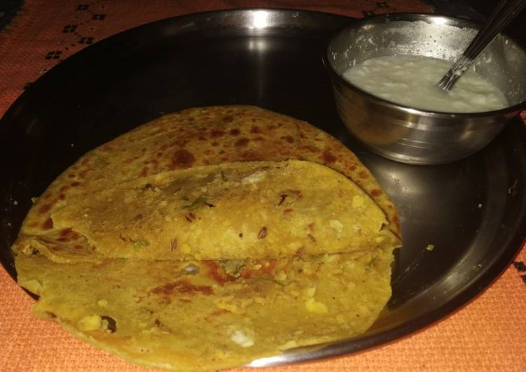 Grandmother's Dinner Ideas Ultimate Chana daal Paratha