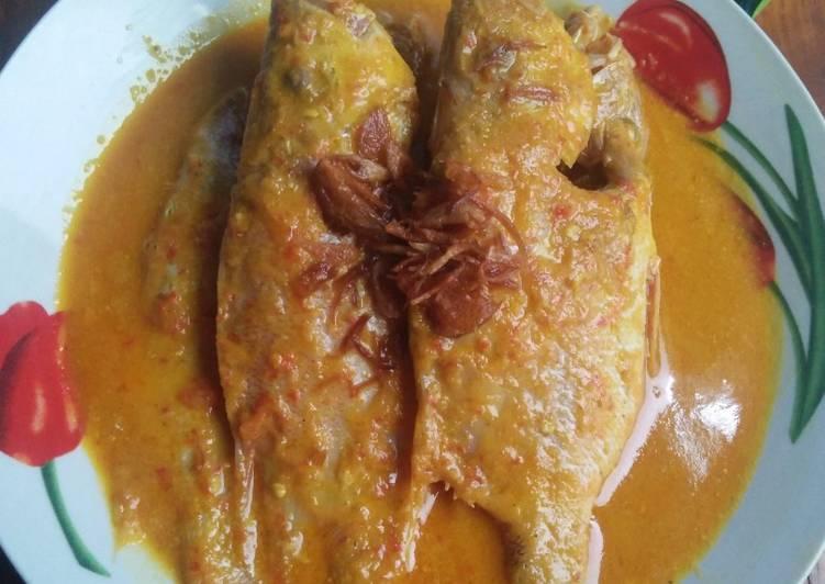 Ikan Kakap Kuah Santan