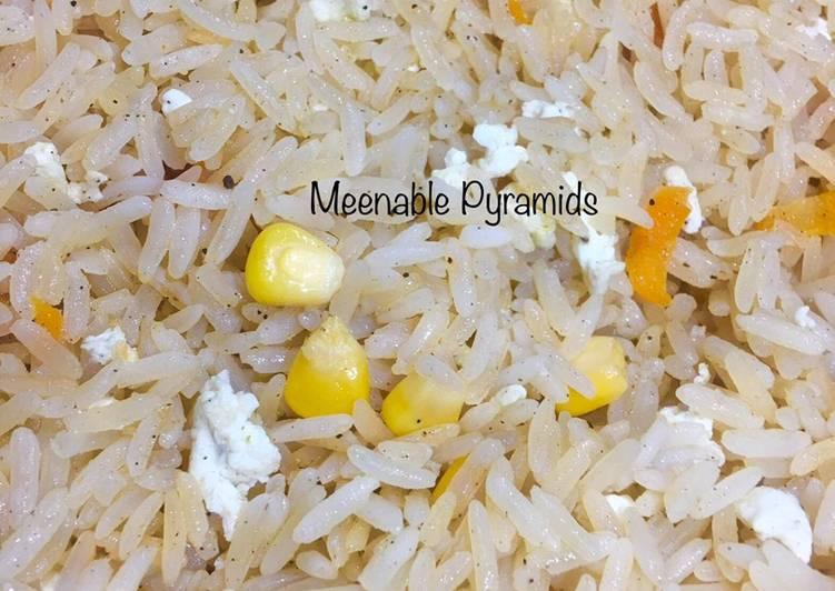 Egg white rice
