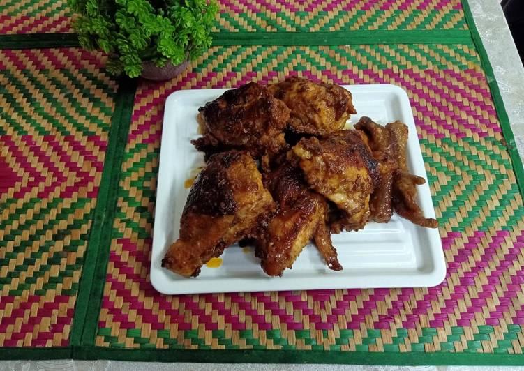 Ayam bakar berempah - velavinkabakery.com
