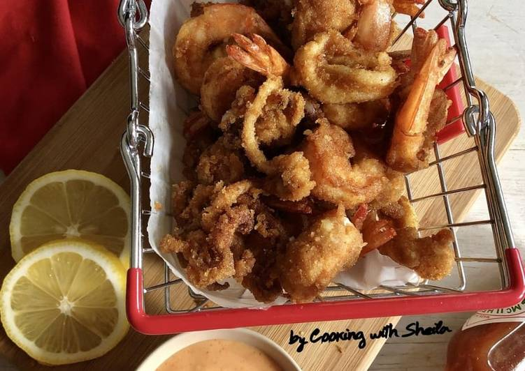 Resep Fritto Misto Oleh Cooking With Sheila Cookpad