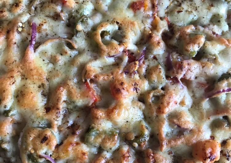 Recipe: Yummy Rainbow pizza #eattherainbow