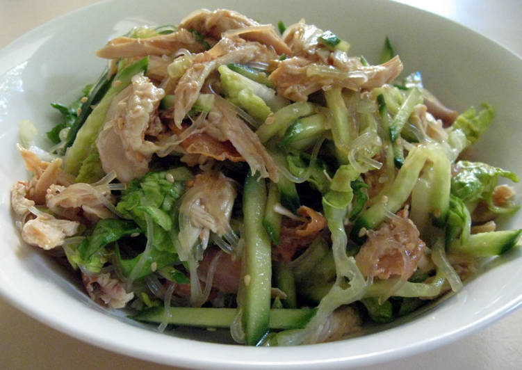 Chicken Harusame Salad