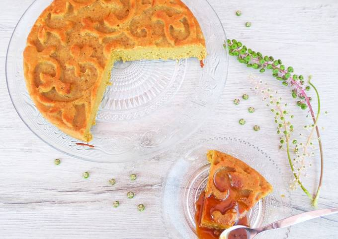 Gâteau à la compote de pomme