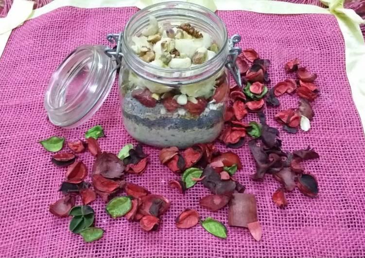 Simple Way to Process Speedy Muesli and Chia Seeds Porridge
