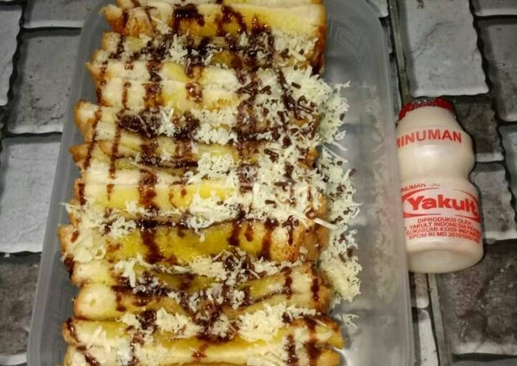 Resep BEKAL SUAMI (Roti Bakar CokJu) Bikin Laper
