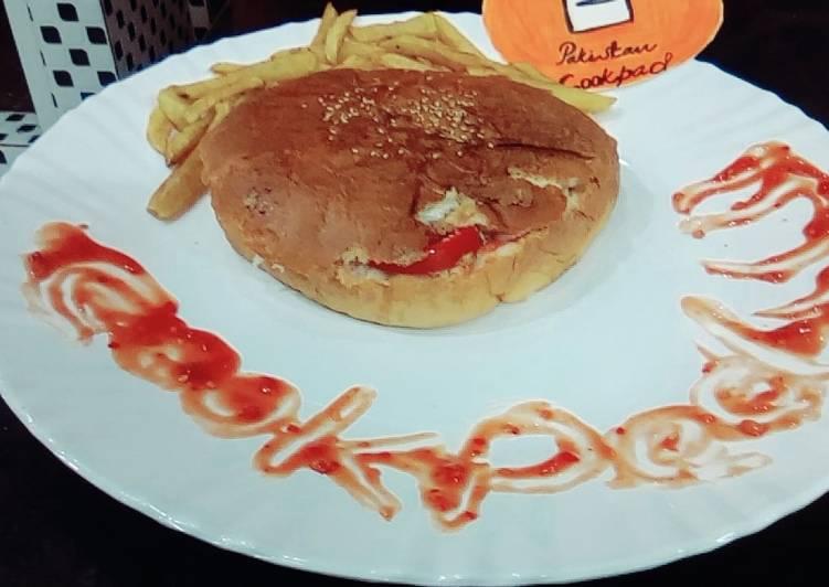 Shami kabab Burger