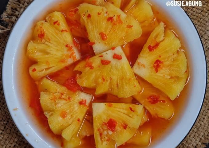 Resep Asinan Nanas Oleh Susi Agung Cookpad