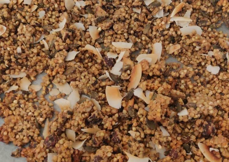 Recipe of Ultimate Buckwheat granola