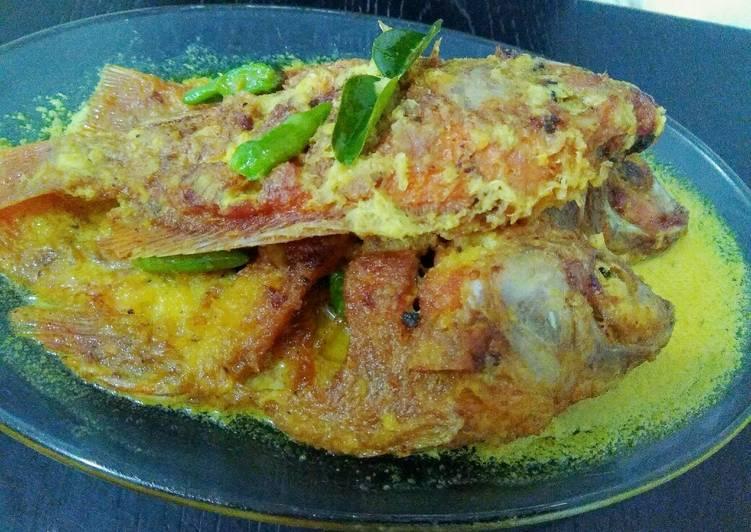 Ikan Nila bumbu pesmol