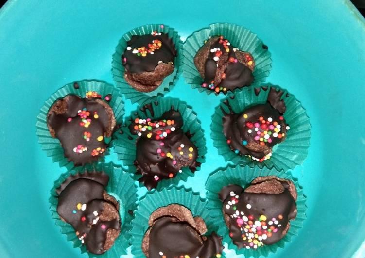 Coco crunch coklat leleh