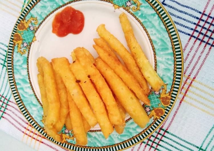 Stik kentang keju endul