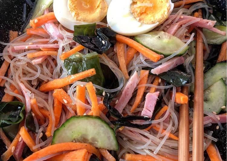 Harusame Salad - Japanese Glass Noodle Salad