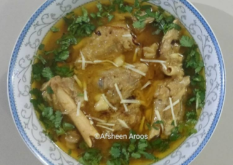 Easiest Way to Prepare Any-night-of-the-week Goat Paya/ Trotters