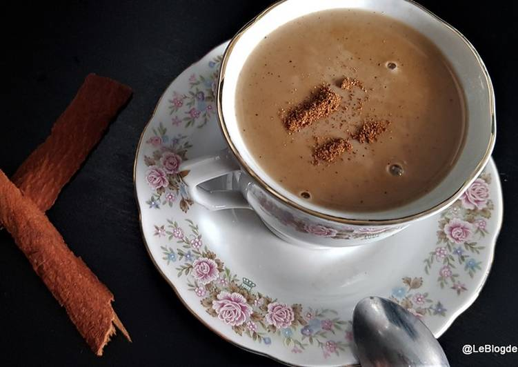 Easiest Way to Make Yummy Atole café et cannelle