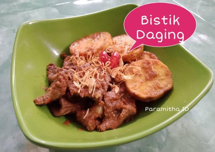 Bistik Daging (BeefSteak Jawa)
