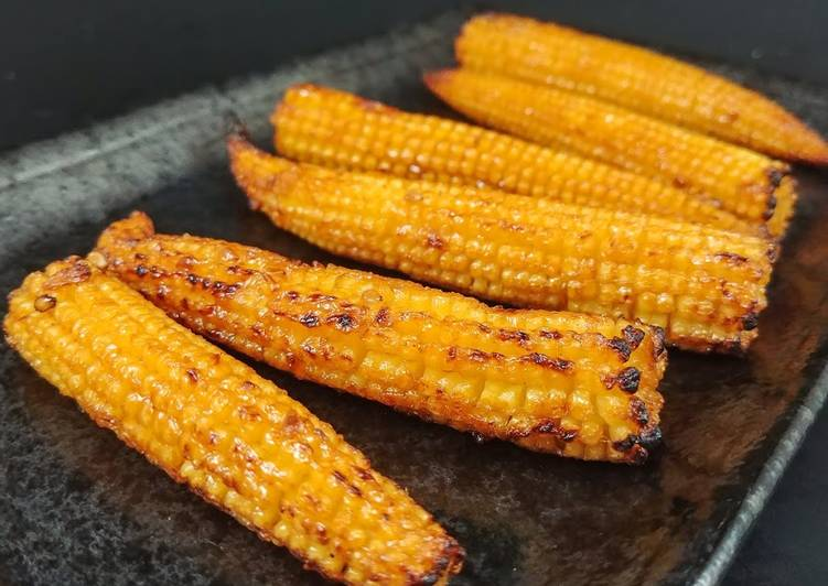 Easiest Way to Cook Tasty Bbq baby corn