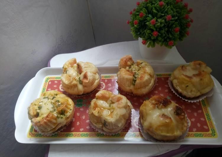 Korean Garlic cheese Bread Happy call