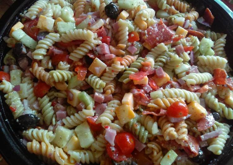 Easiest Way to Make Delicious Italian Pasta Salad
