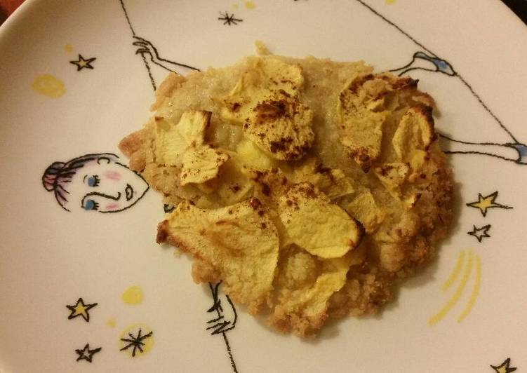 Biscuits crumble pommes cannelle