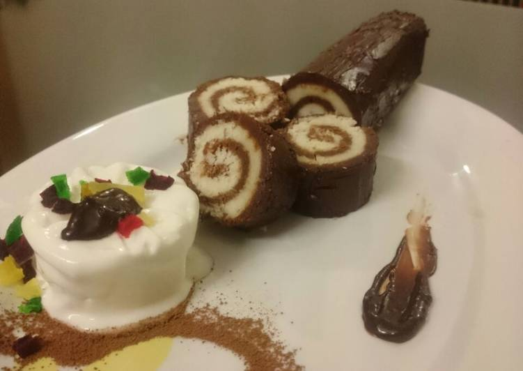 Living Greener for Good Health By Consuming Superfoods Swiss roll