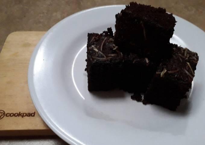 Brownies singkong kukus gluten free